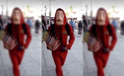 Ambulante faz paródia com música de La Casa de Papel e conquista internet