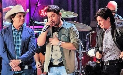 Jorge & Mateus recebem Chitãozinho & Xororó no show 'Único' em Goiânia