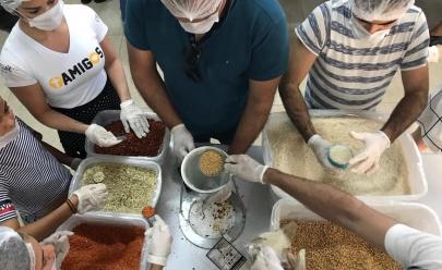 Jovens de Goiânia se mobilizam e garantem 25 mil refeições a vítimas do ciclone na África