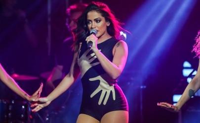 Anitta faz show de aquecimento para o Réveillon 2018 em Goiânia