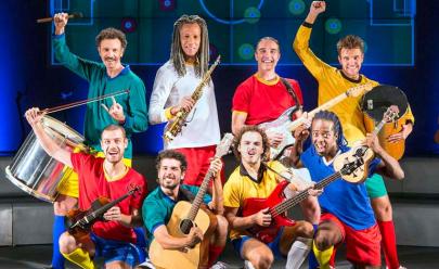 Brasília recebe musical Samba Futebol Clube pela primeira vez