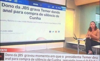 Imagem com erro de digitação na Globo News viraliza na Internet