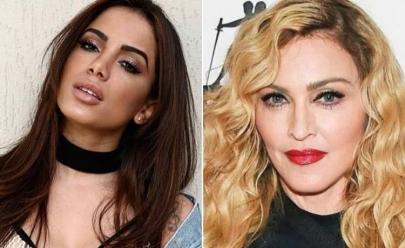 Anitta e Madonna podem estar prestes a fazer uma parceria