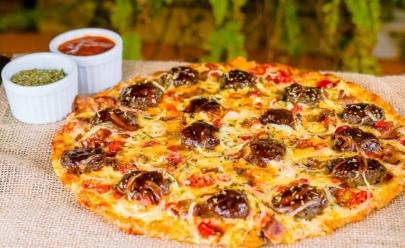 Pizzaria no Guará faz sucesso ao misturar pizza e hambúrguer