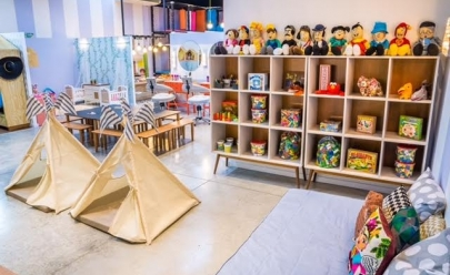 Brinquedoteca Villa Kidz abre as portas no Flamboyant Shopping