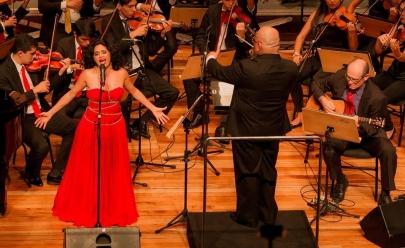 Goiânia recebe concerto da Orquestra Sinfônica com a renomada cantora Sabah Moraes