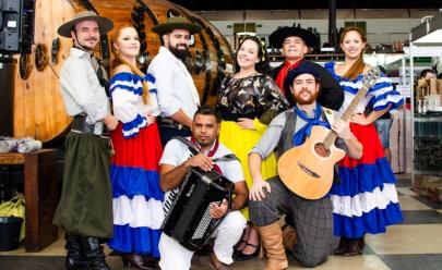 Uberlândia recebe feira gaúcha com gastronomia, artesanato e cenário típicos