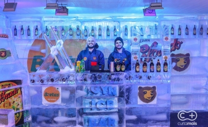 Curta Mais sorteia par de ingressos toda semana para o Ice Bar do Bretas