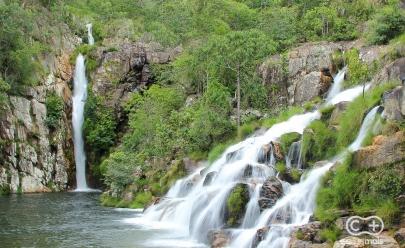 Cachoeira da Capivara é destino paradisíaco ainda pouco explorado na Chapada dos Veadeiros