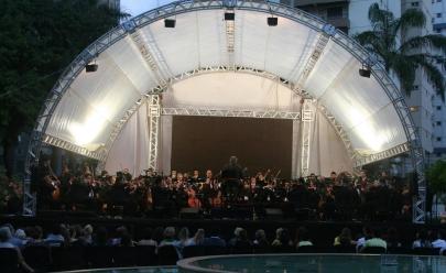 Orquestra Sinfônica de Goiânia apresenta concerto com sucessos da MPB no Bosque dos Buritis