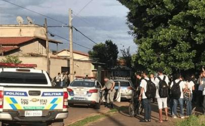 Alarme falso de tiroteio causa pânico em colégio de Goiânia