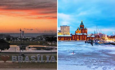 É oficial: faz mais frio em Brasília do que na Finlândia