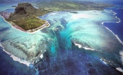 Fotos de 'Cachoeira Subaquática' impressionam internautas
