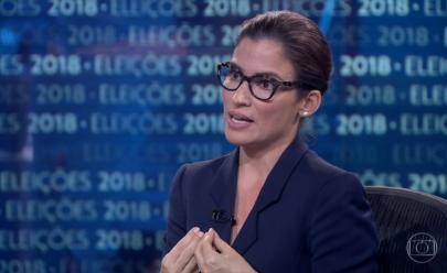 Meu salário não te diz respeito, rebate Renata Vasconcellos a Jair Bolsonaro; veja o vídeo