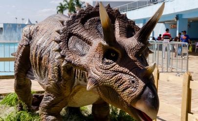 Buriti Shopping recebe exposição de dinossauros gigantes nestas férias de julho