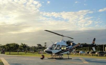 Réveillon luxuoso conta com passeio de helicóptero em Goiânia