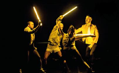 Goiânia recebe espetáculo de dança contemporânea com coreografia neon