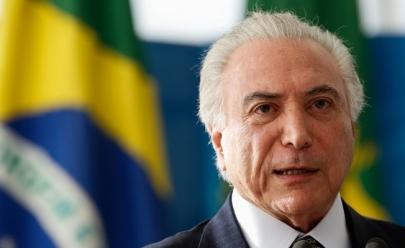 Polícia Federal pede bloqueio de bens de presidente Michel Temer