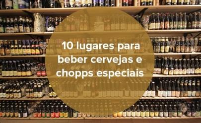 10 lugares para beber cervejas e chopps especiais em Goiânia