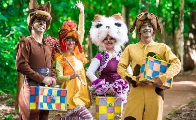 """Teatro Sesc recebe o musical infantil """"Os Saltimbancos"""" em Goiânia"""