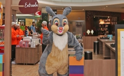Confira a programação de Páscoa para as crianças nos shoppings em Goiânia