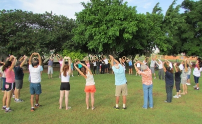 Parque Lago das Rosas é palco de aulão gratuito de ginástica e ritmos neste sábado