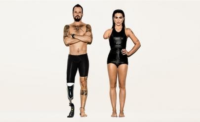 Campanha para os Jogos Paralímpicos tira braço e perna de Cleo Pires e Paulinho Vilhena
