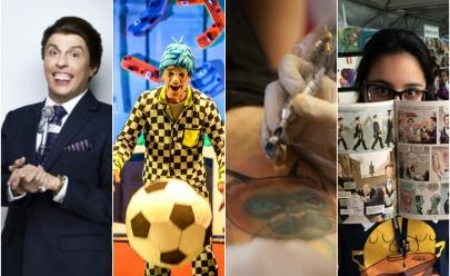 13 motivos para sair de casa neste final de semana em Goiânia
