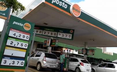 Urgente! Preço da gasolina começa a cair em postos de Goiânia