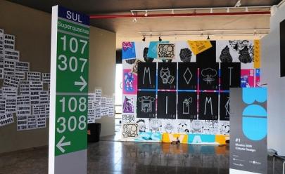 Exposição gratuita reúne trabalhos de artistas de Brasília na Torre de Tv