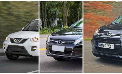 20 modelos de carro mais desvalorizados em 2016, segundo pesquisa