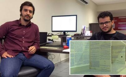 Goianos usam fotos de quarto para decifrar livros de jovem que sumiu no Acre
