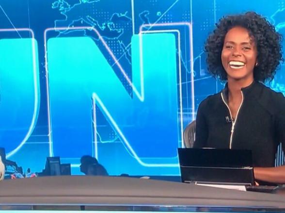 Maju Coutinho fala sobre a emoção de apresentar o Jornal Nacional