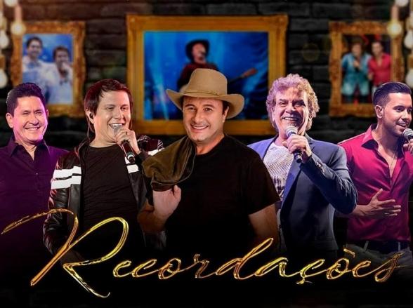 'Recordações' reúne Gian & Giovani, Paraná e Mato Grosso & Mathias em Goiânia
