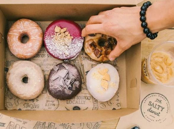 O donut mais famoso da Florida, The Salty Donut, chega em South Miami