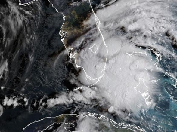 Distúrbio tropical deve trazer chuva para o Sul da Florida esta semana