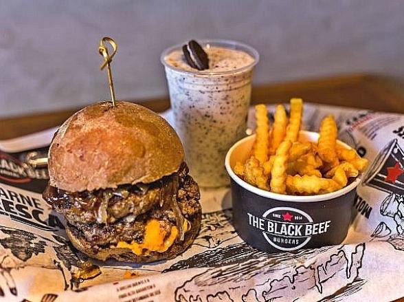 Belo Horizonte ganha nova unidade da rede de hamburguerias The Black Beef