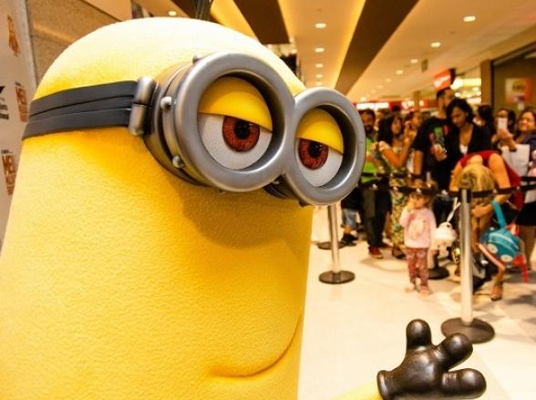 Shopping de Brasília promove encontro gratuito para a criançada com personagens de filme