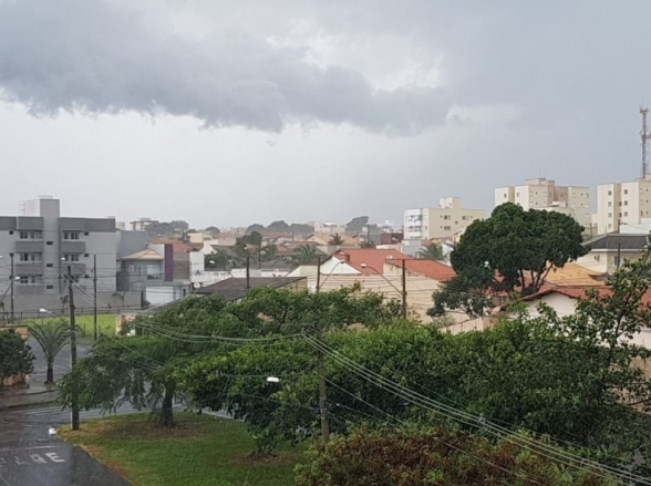 Previsão aponta temperaturas amenas e chuvas intensas para Uberlândia esta semana