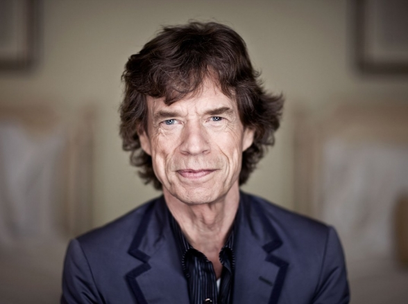 Mick Jagger, aos 73 anos, é pai pela oitava vez
