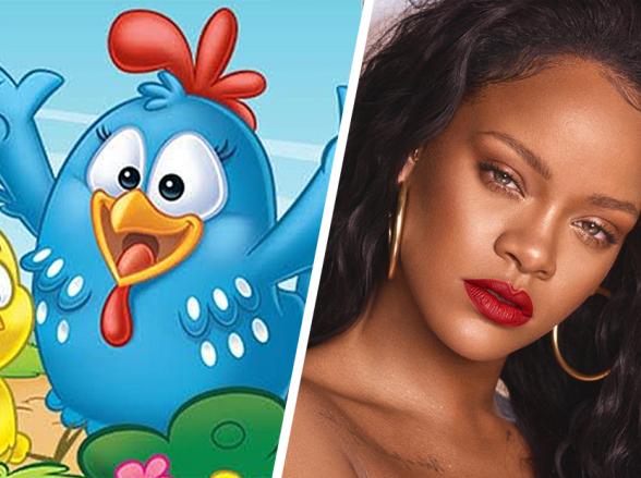 Galinha Pintadinha supera Rihanna e bate recorde histórico no YouTube