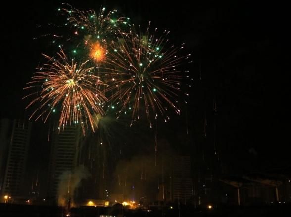 Réveillon em Uberaba terá shows, área de alimentação e fogos de artifício de baixa sonoridade