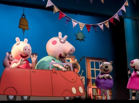 Live Show Oficial 'Peppa Pig - Brincando de Ser Grande' chega a Goiânia