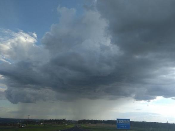 Pancadas de chuva são previstas para o fim de semana em Uberlândia