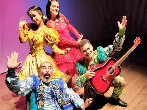 Peça infantil 'Histórias para sonhar acordado' acontece em Goiânia