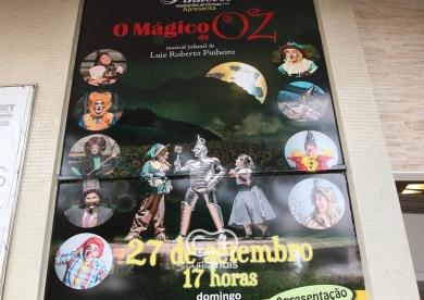 Peça infantil  O Mágico de Oz