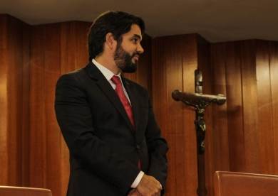 Marcelo Albuquerque, capixaba e criador do Curta Mais, recebe título de cidadão goianiense